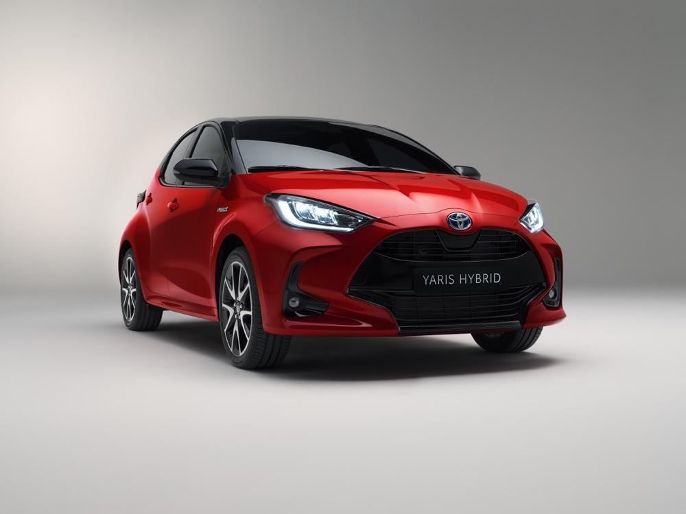 Nuova Toyota Yaris 2020 Hybrid