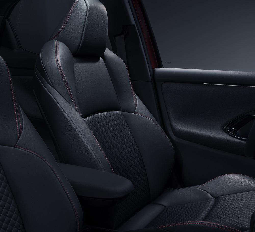 Sedili di Nuova Toyota Yaris 2020