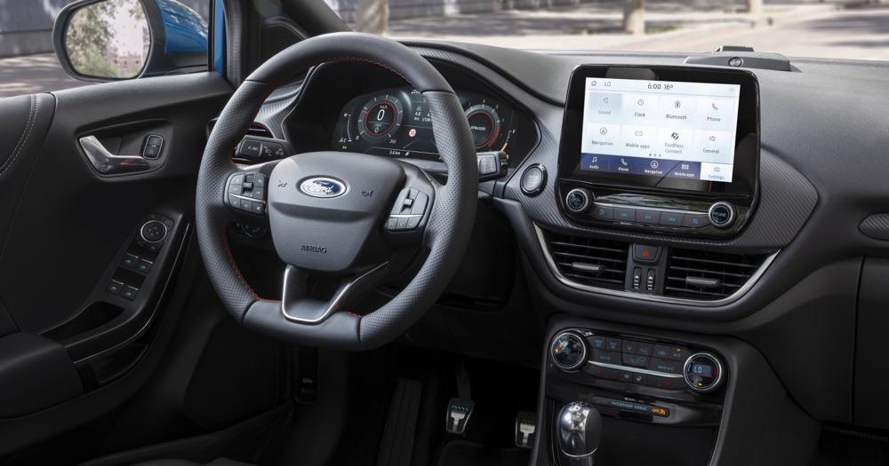 Interni di nuova Ford Puma
