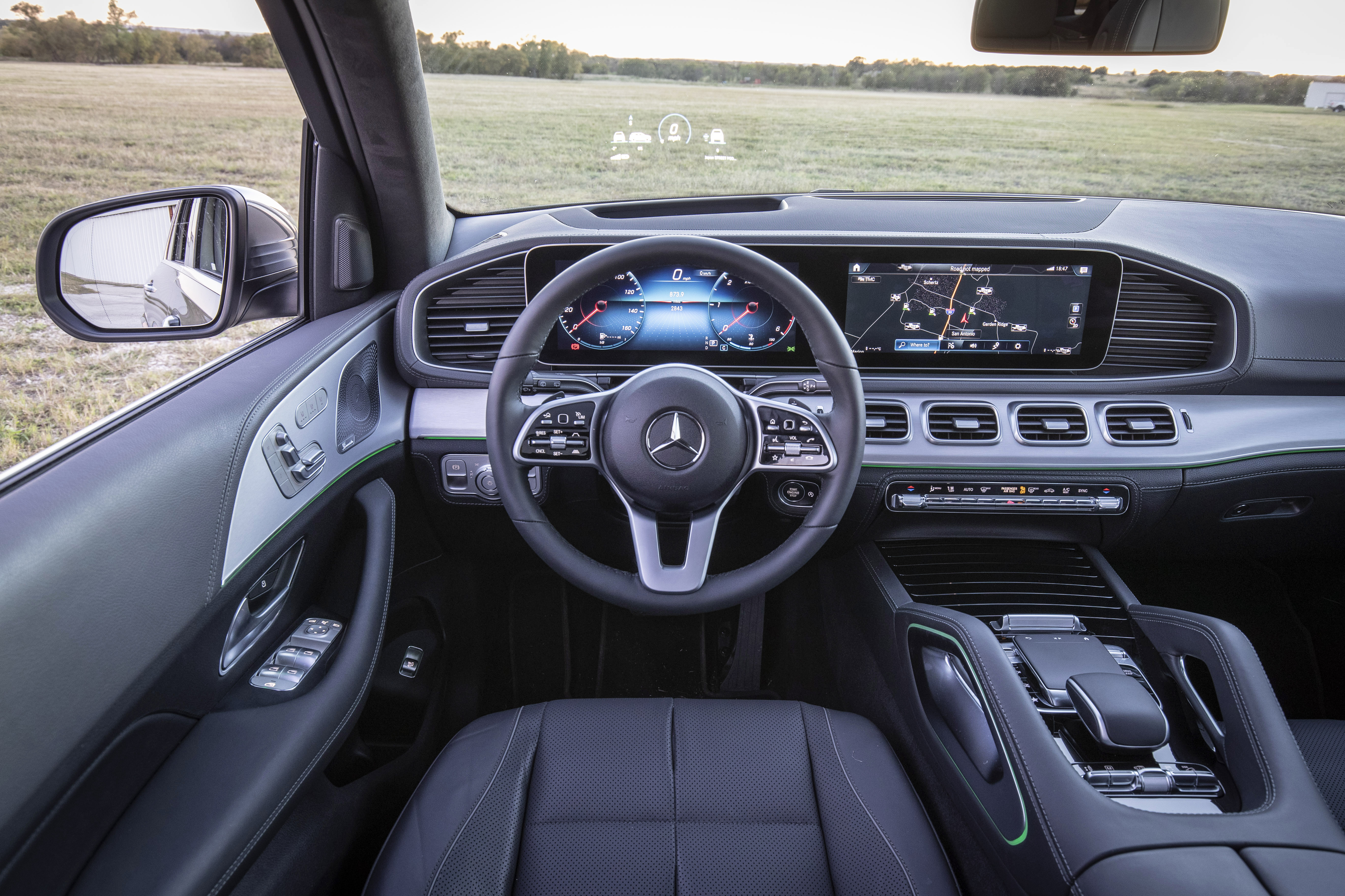 sistema Mbux Mercedes GLE