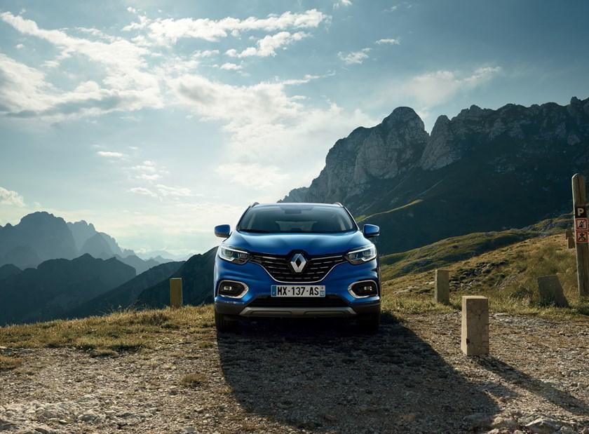 Frontale nuovo Renault Kadjar