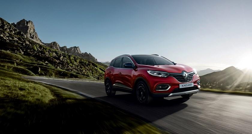 nuovo Renault Kadjar rosso