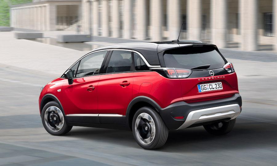 Bagagliaio di Opel Crossland 2021