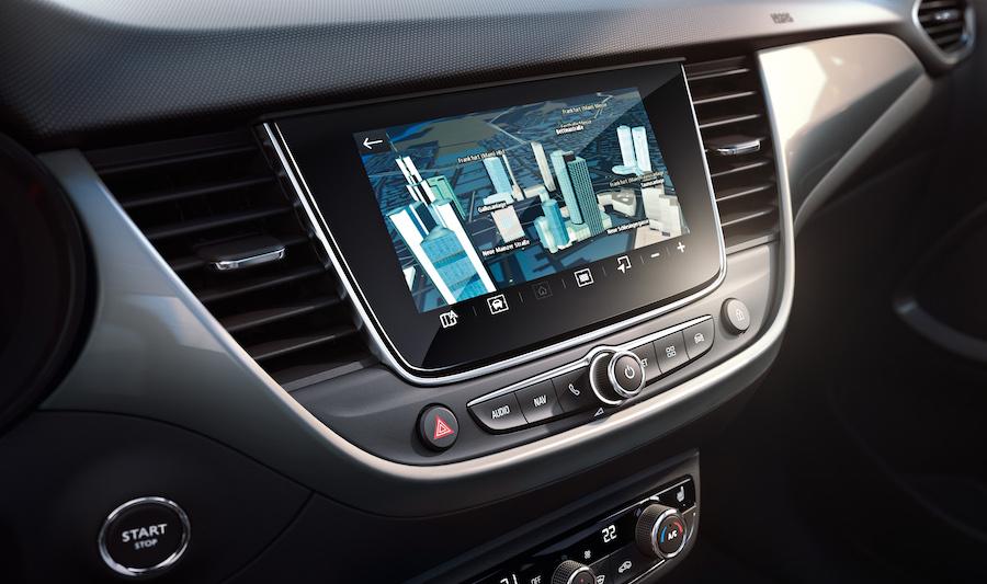 Infotainment di Opel Crossland 2021