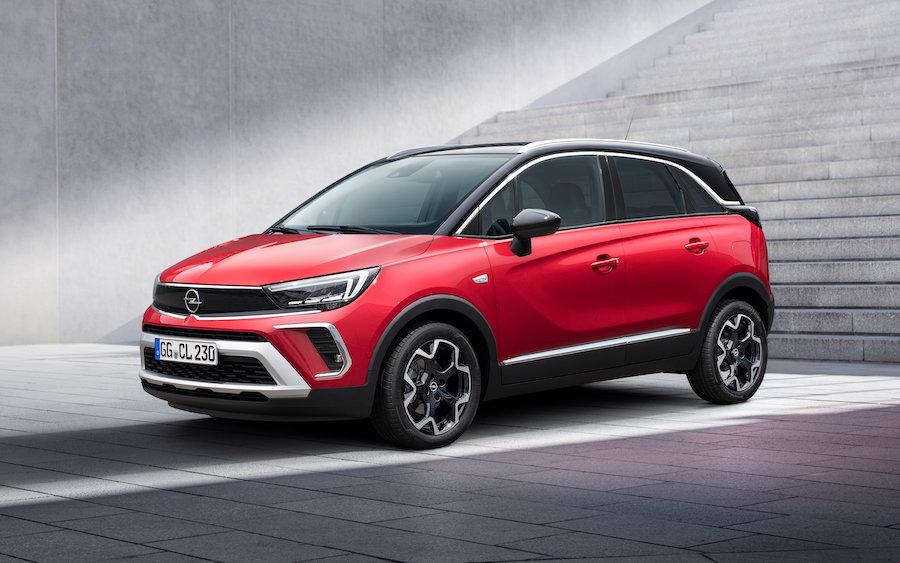 Sedili scorrevoli su Opel Crossland 2021