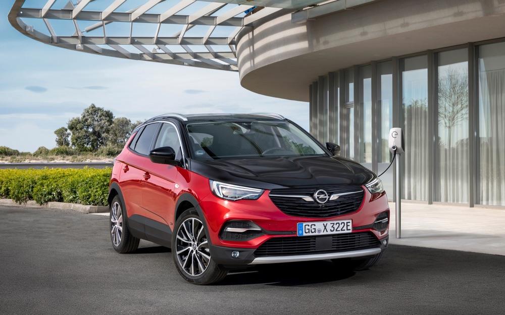 Motore di Opel Grandland X Hybrid