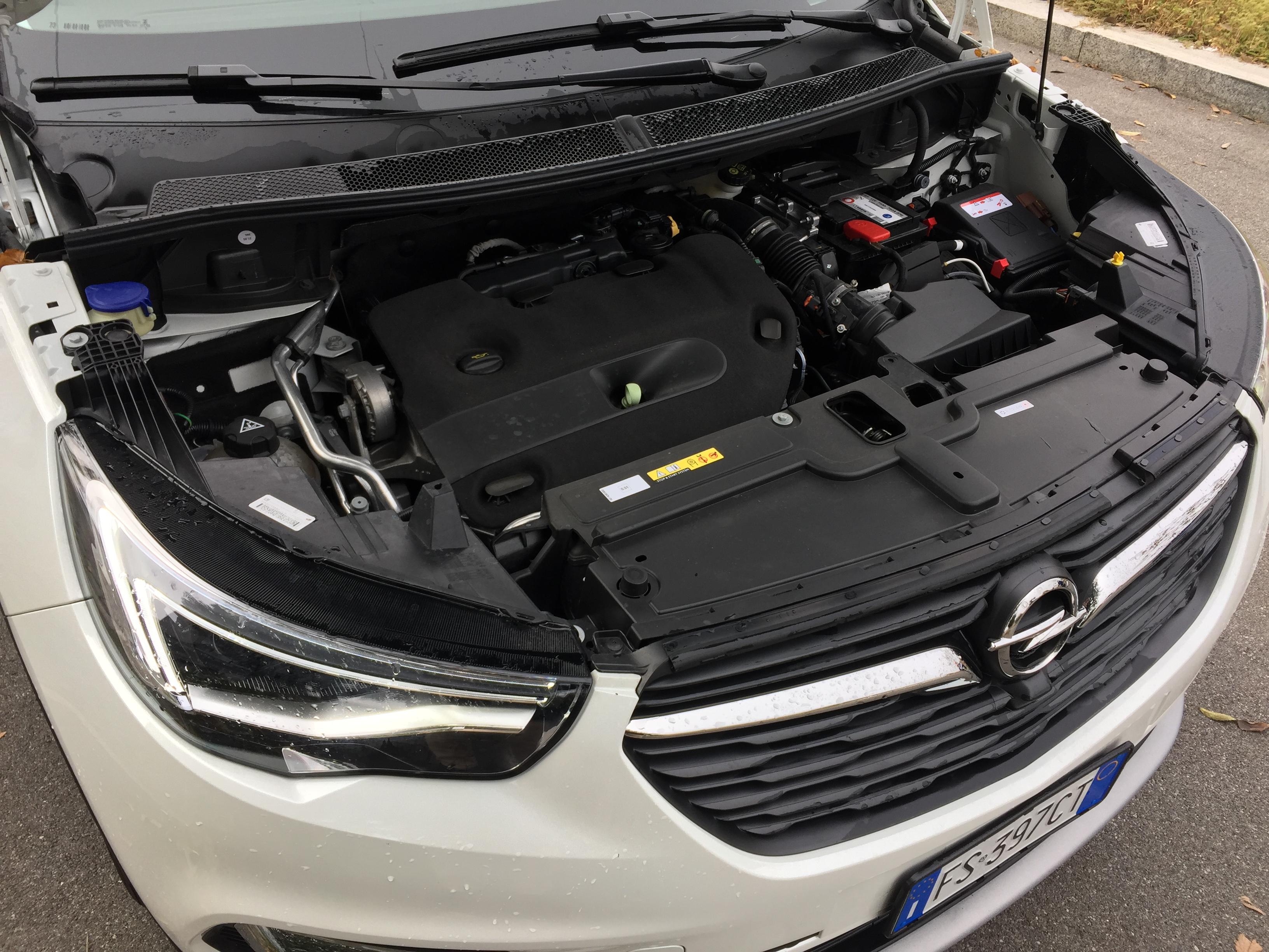 Opel Grandland X motore