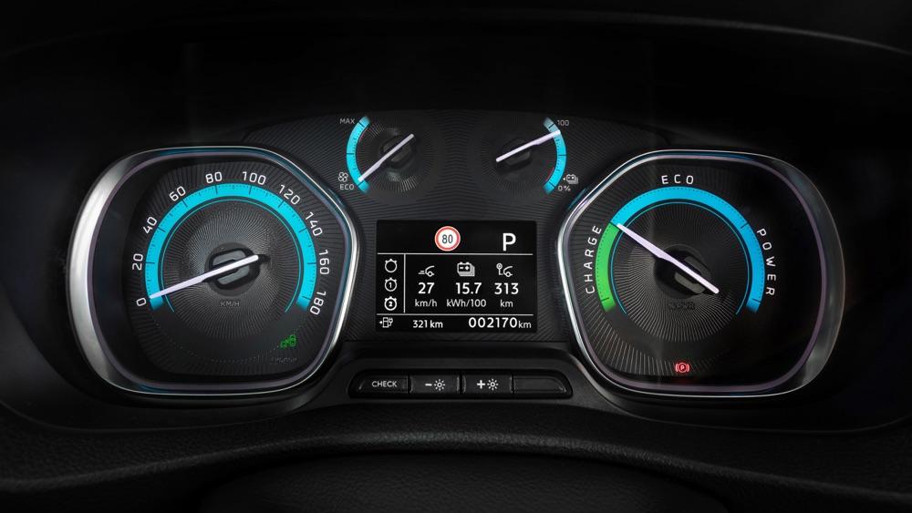 Adas di Opel Vivaro-e