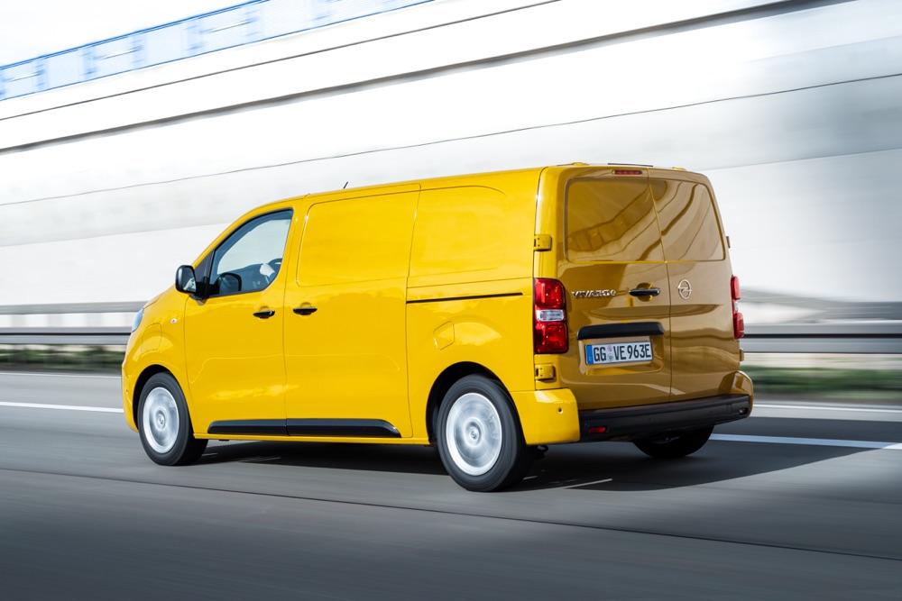 Motore di Opel Vivaro elettrico