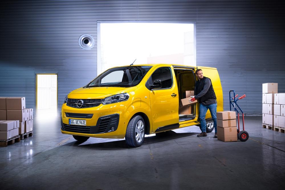 Portata di Opel Vivaro-e