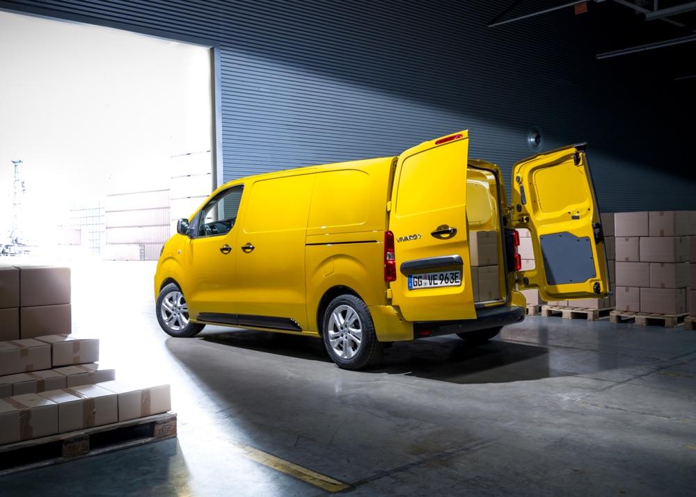 Portiere a battente su Opel Vivaro-e
