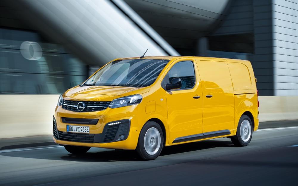 Uscita di Opel Vivaro-e