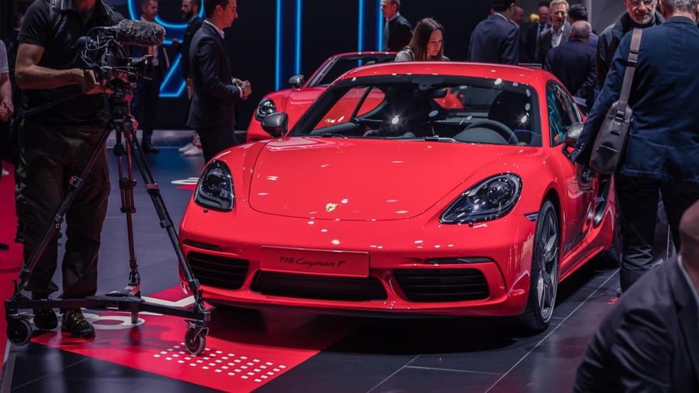 Caratteristiche di Porsche 718 T a Ginevra