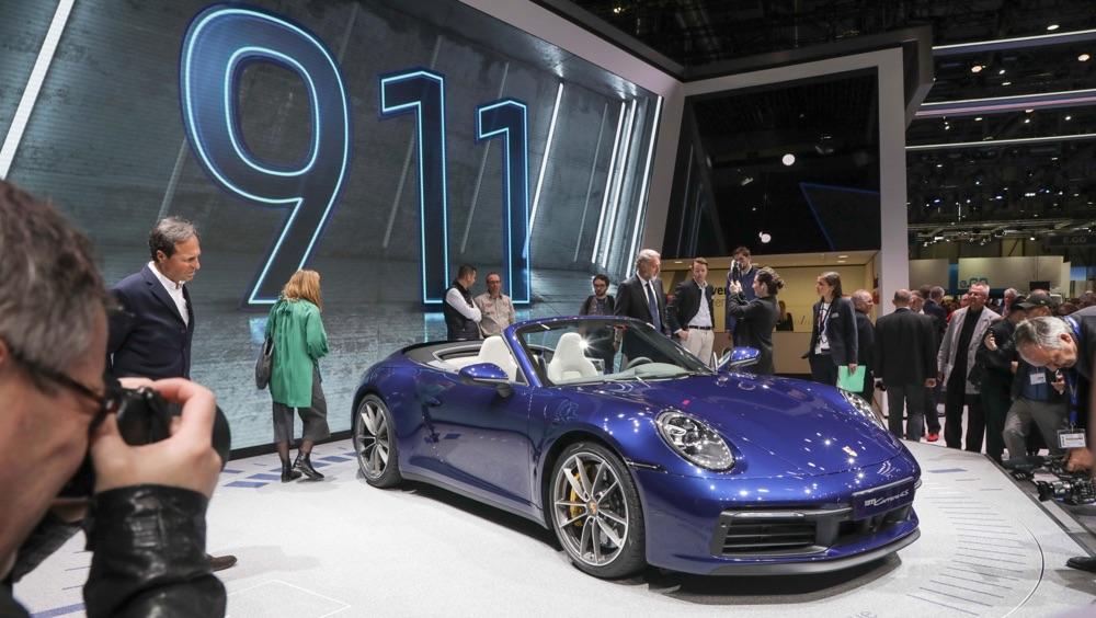 Caratteristiche di Porsche 911 Cabriolet