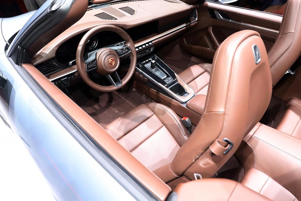 Interni di Porsche 911 Cabriolet