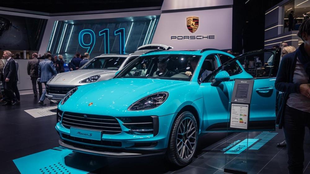 Motore di Porsche Macan S 2019