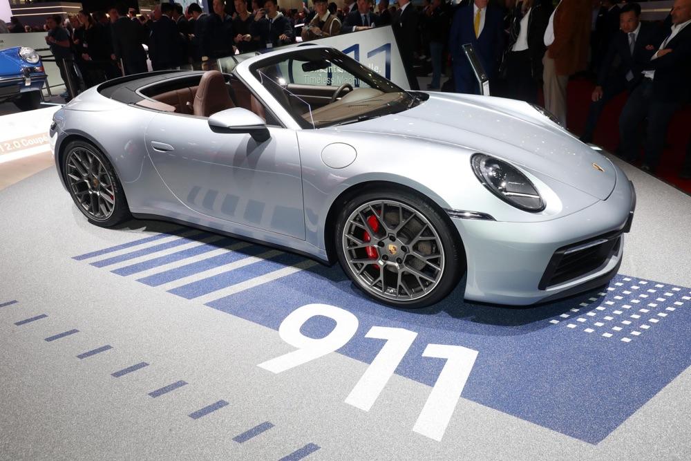 Motore di nuova Porsche 911 Cabrio S