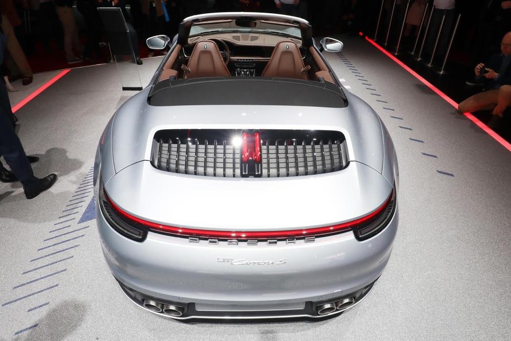 Nuova Porsche 911 Cabriolet S a Ginevra