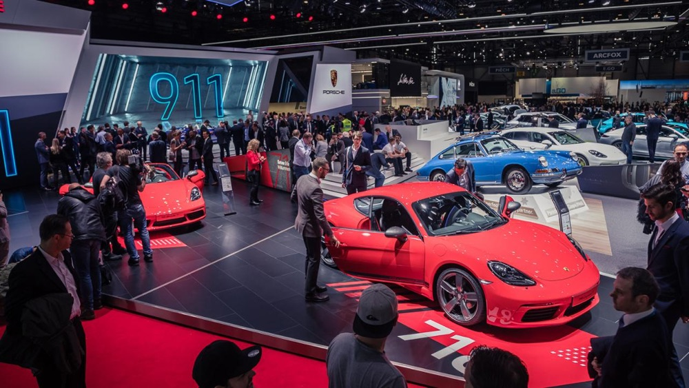 Porsche 718 T al Salone di Ginevra 2019