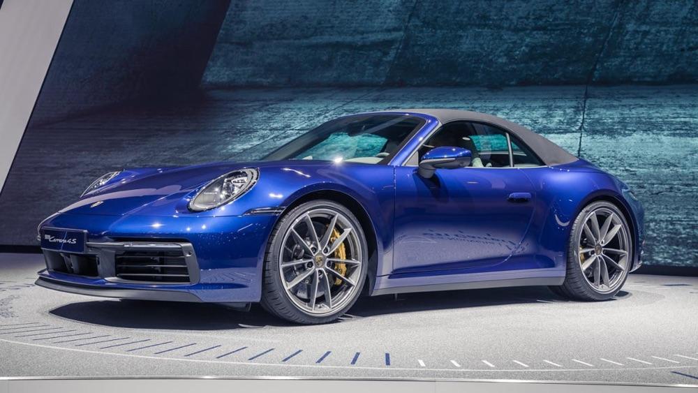 Porsche 911 Cabriolet a Ginevra