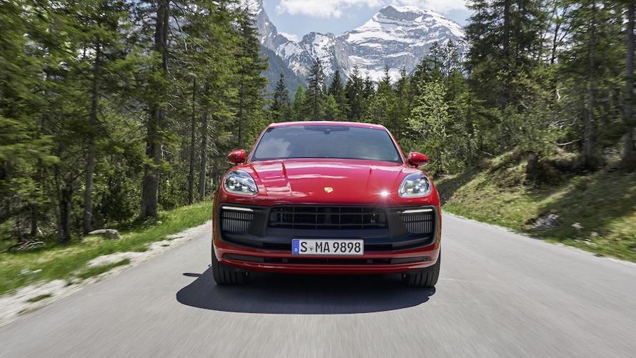 Porsche Macan 2021 restyling