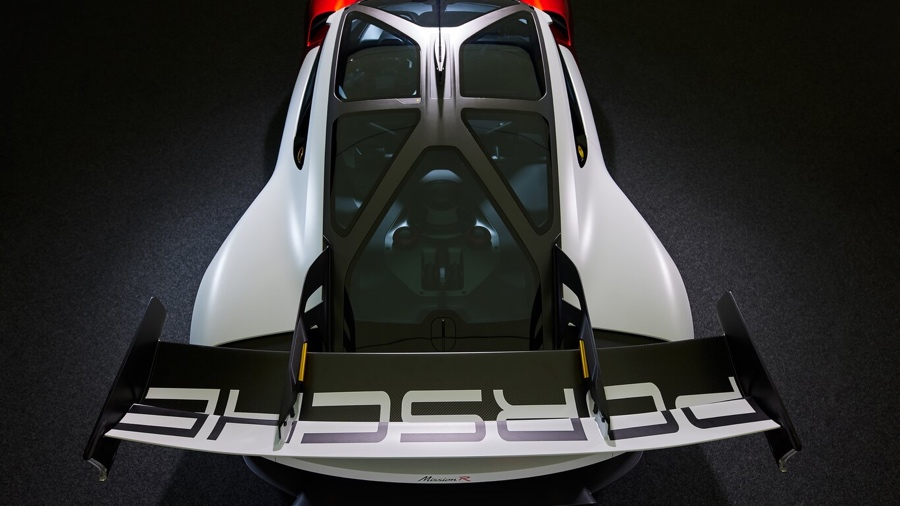 aerodinamica di Porsche Mission R