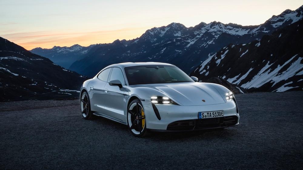 Prestazioni di Porsche Taycan