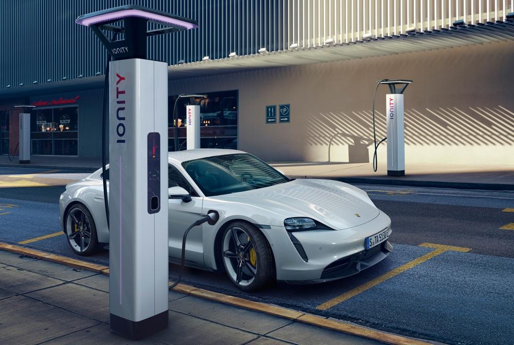 Prezzi di Porsche Taycan