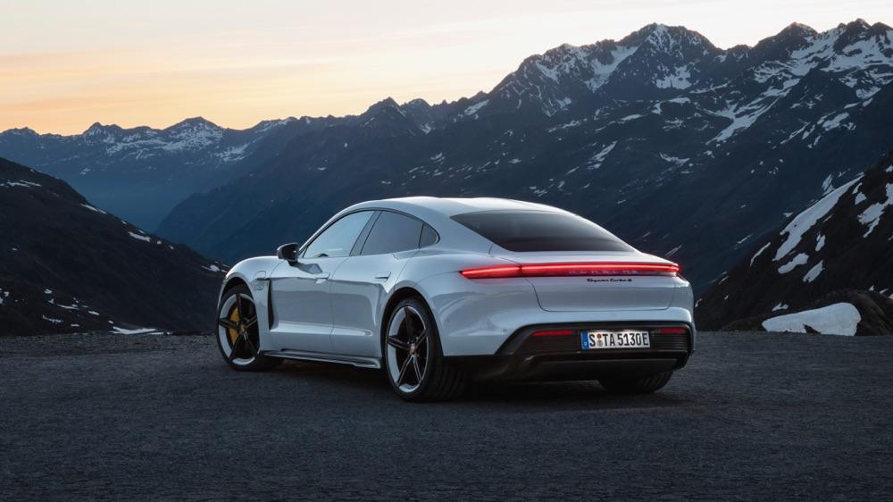 Rigenerazione di Porsche Taycan