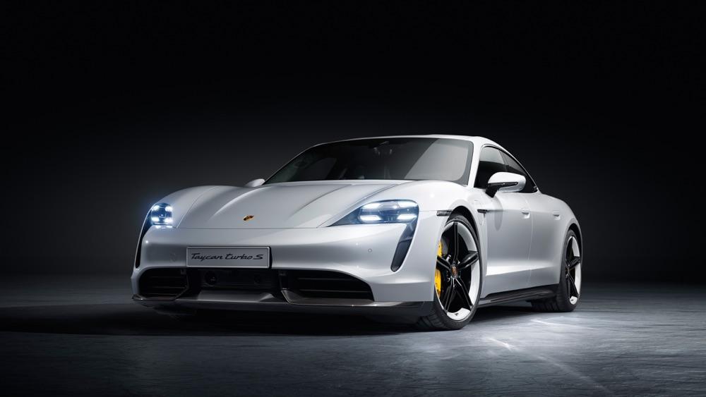 Scheda tecnica di Porsche Taycan
