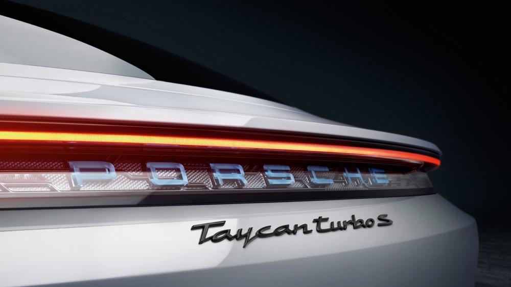 Versioni di Porsche Taycan