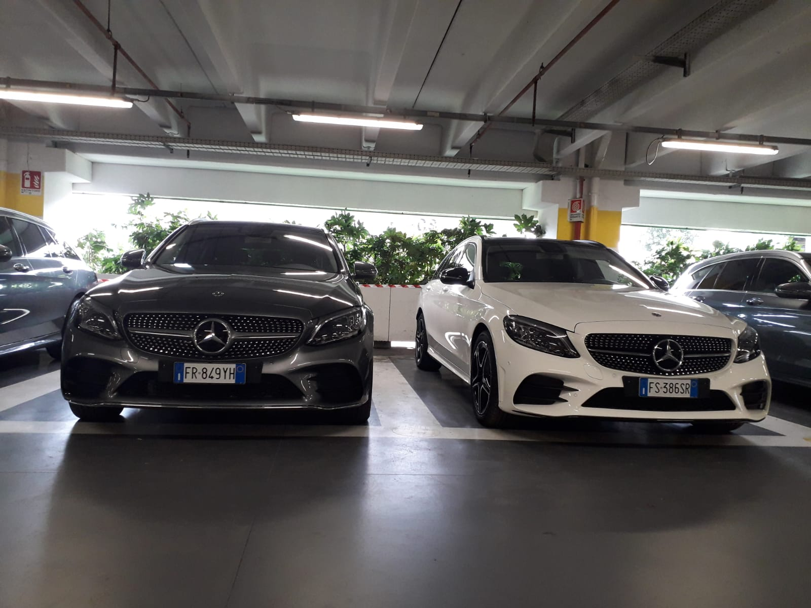 frontale Mercedes-Benz Classe C 2019