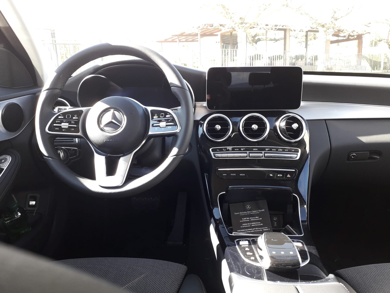 Interni nuova Mercedes Classe C