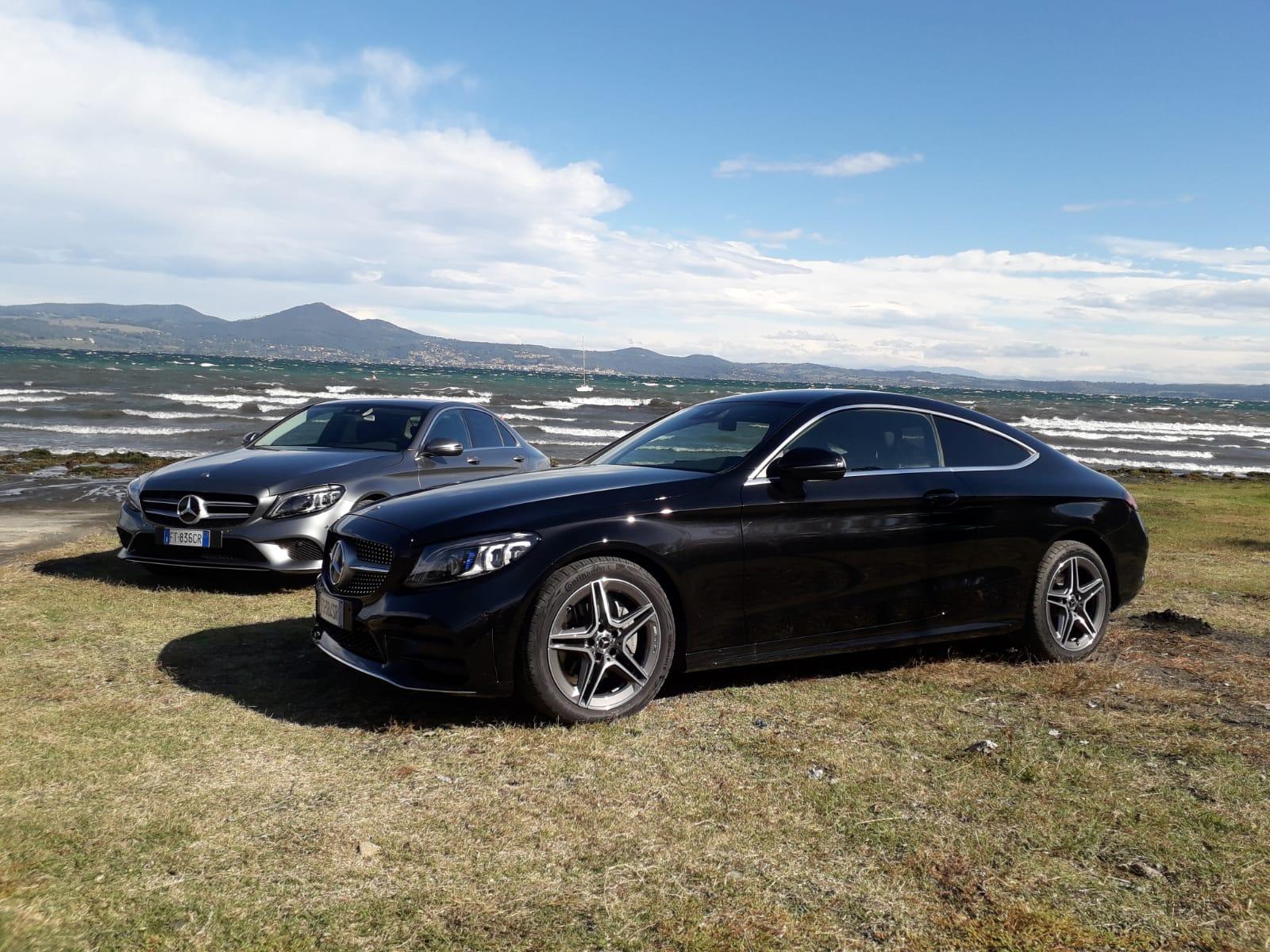 Vista laterale Mercedes Classe C