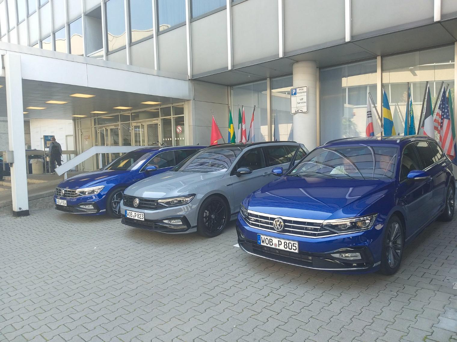 Nuova Volkswagen Passat presentazione stampa