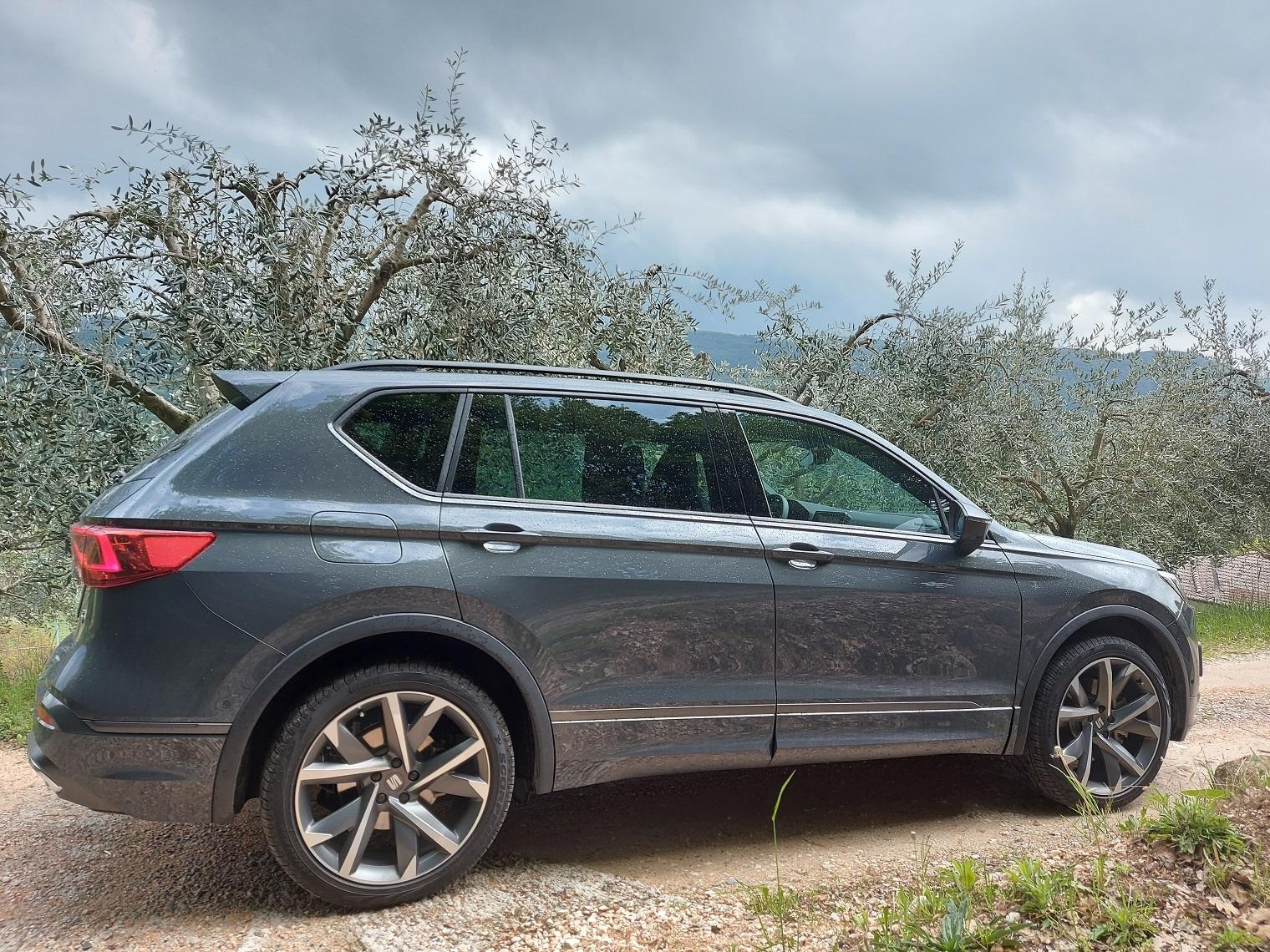 Fiancata nuova Seat Tarraco e-Hybrid