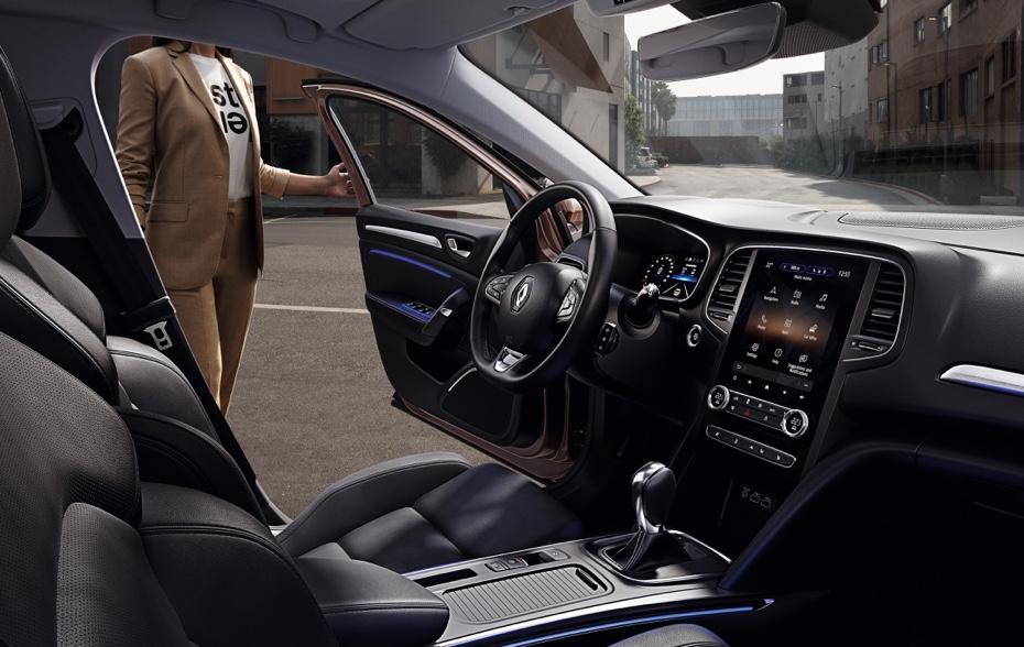Infotainment di Restyling Renault Megane 2020
