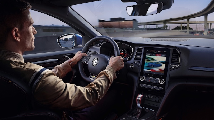 Interni di Renault Megane 2020