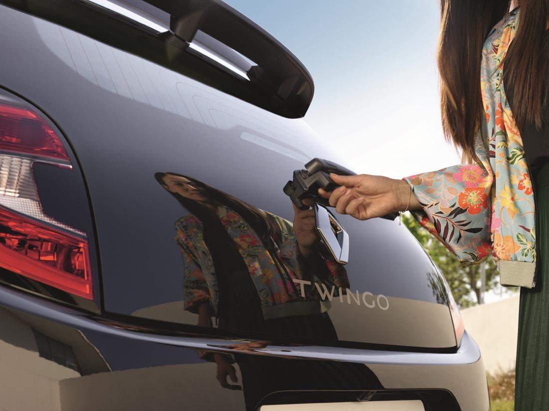 Bagagliaio di Renault Twingo 2019
