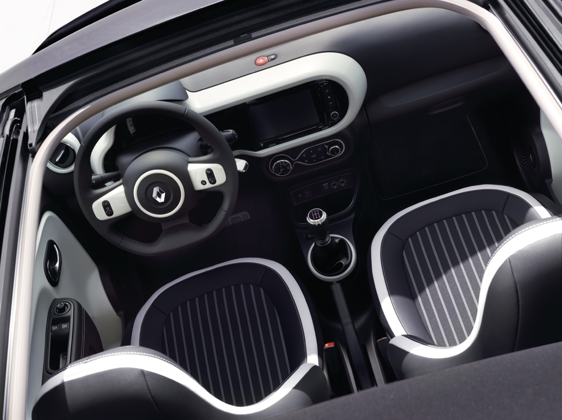 Interni di Renault Twingo restyling