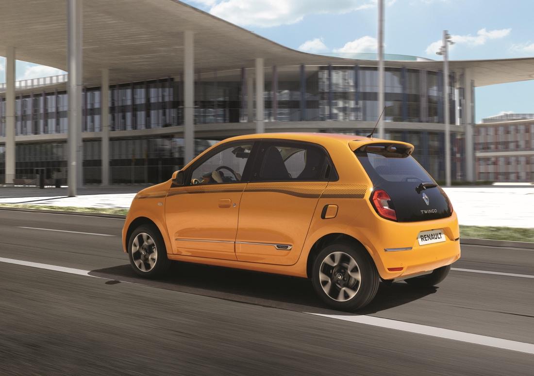 Renault Twingo 2019 Mango Yellow