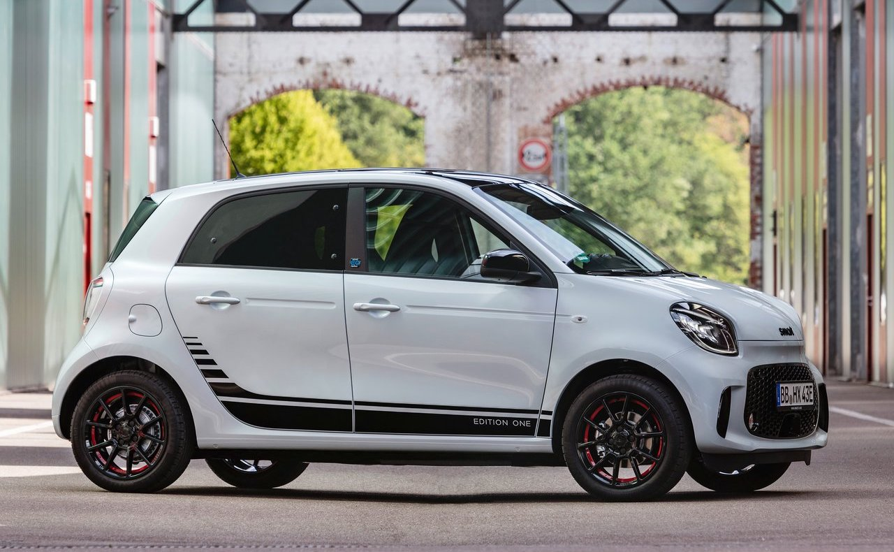 dimensioni di smart eq forfour