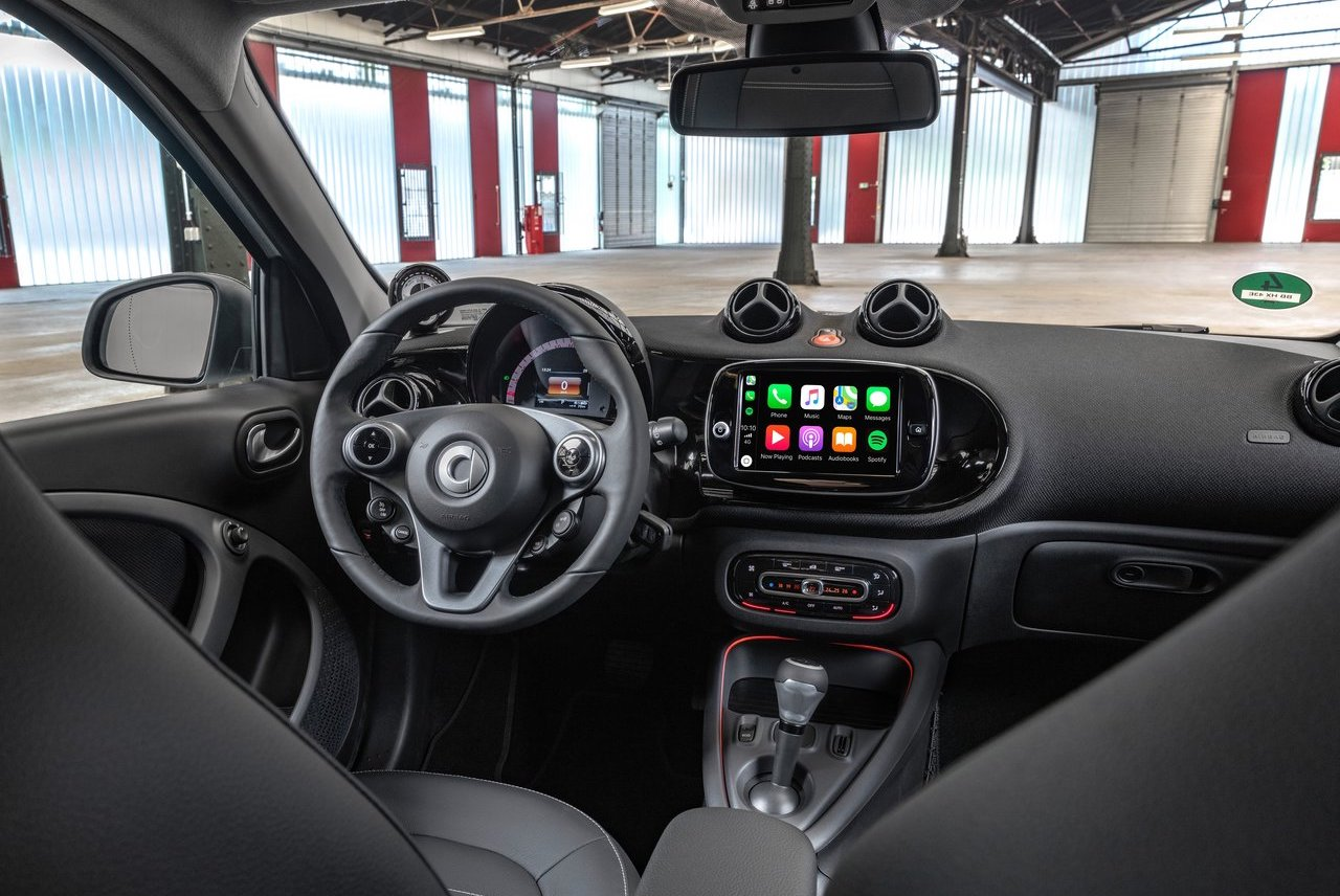 interni di smart eq forfour