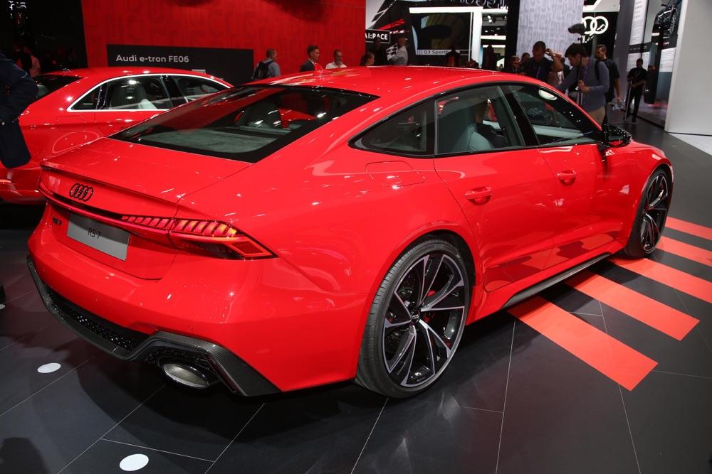 Caratteristiche di Audi RS7 Sportback
