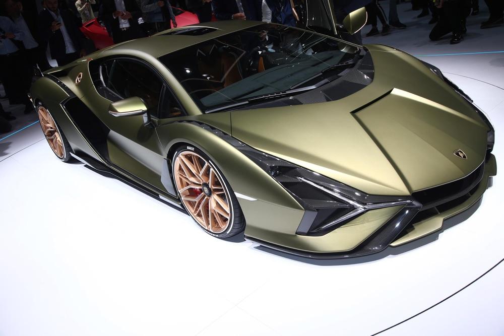 Motore di Lamborghini Sian