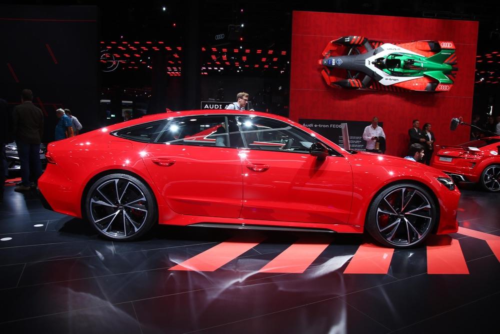 Prestazioni di Audi RS7 Sportback