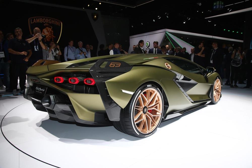 Prestazioni di Lamborghini Sian