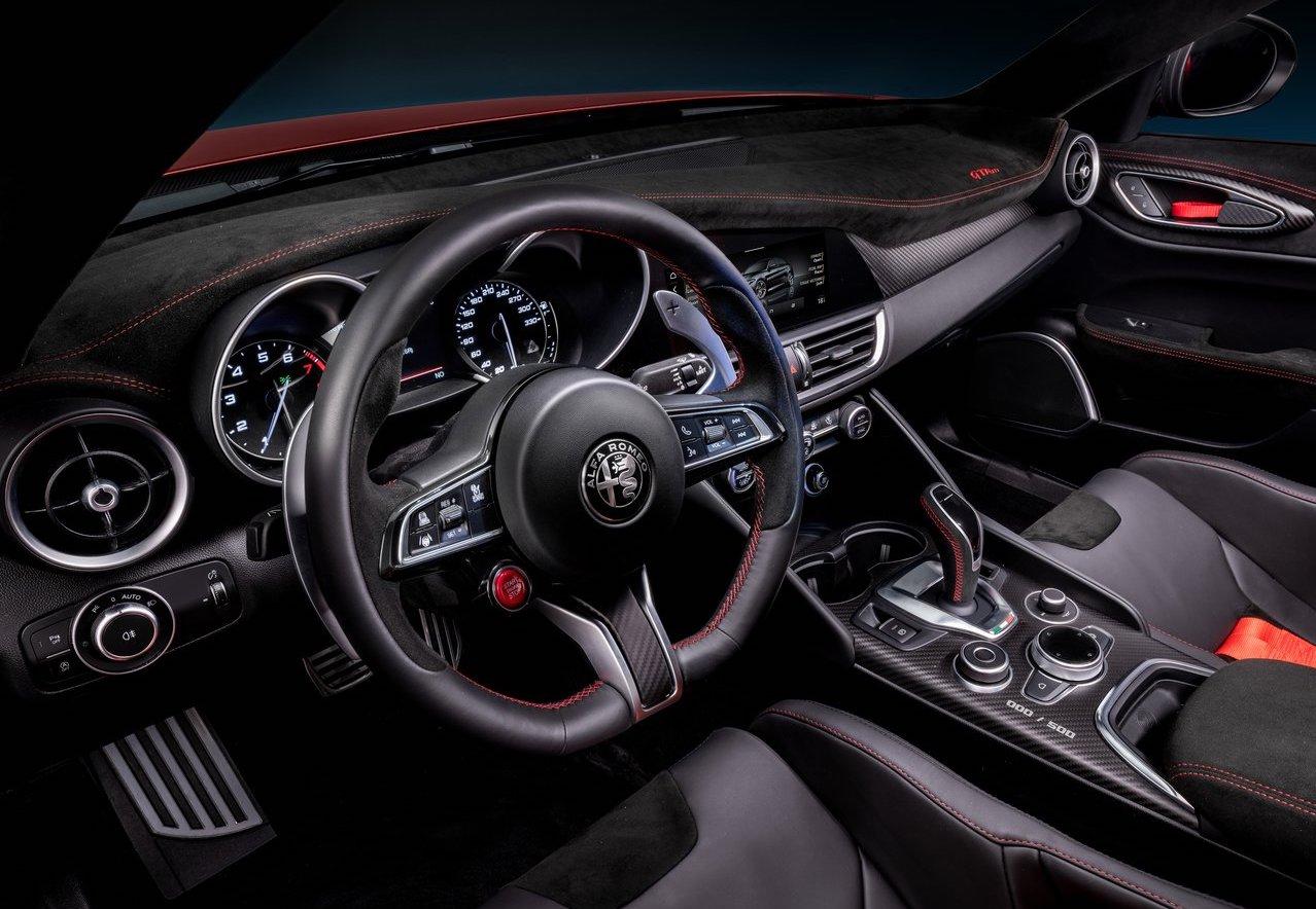 Interni di Alfa Romeo Giulia GTA