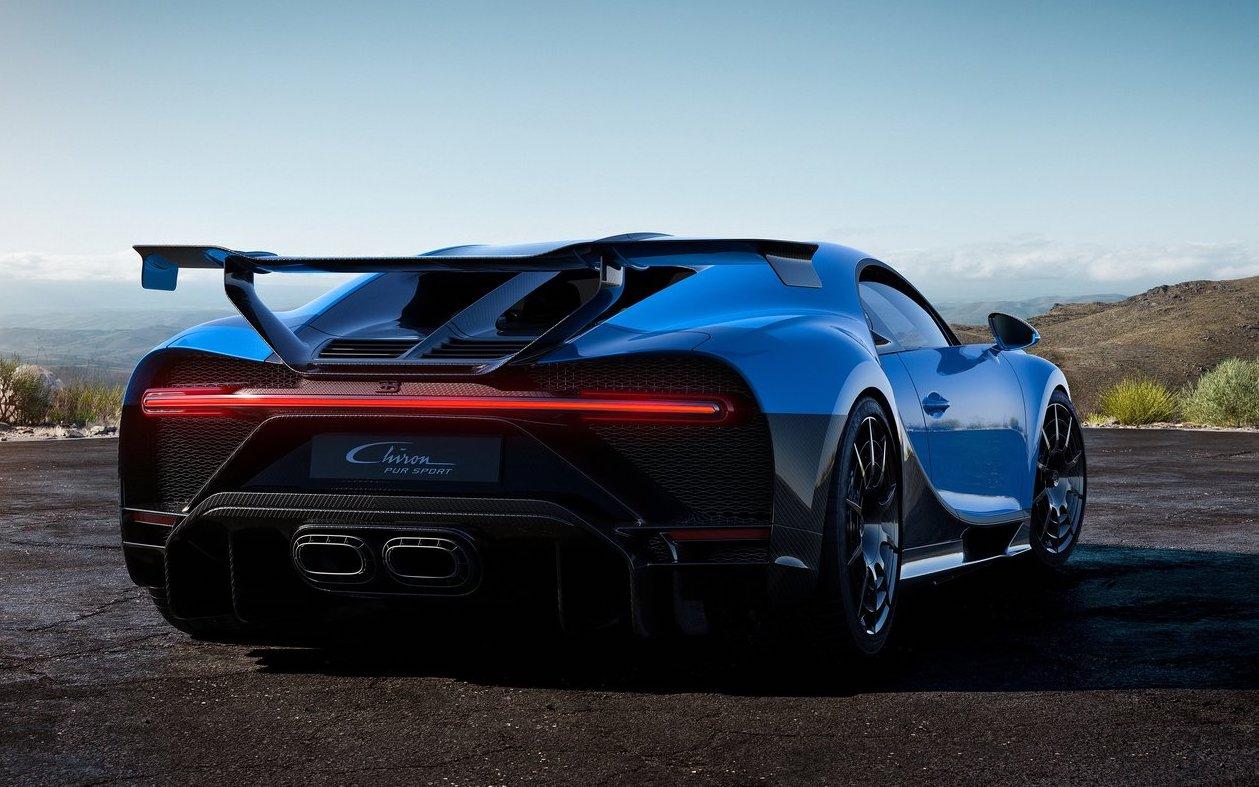 Caratteristiche di Bugatti Chiron Pur Sport