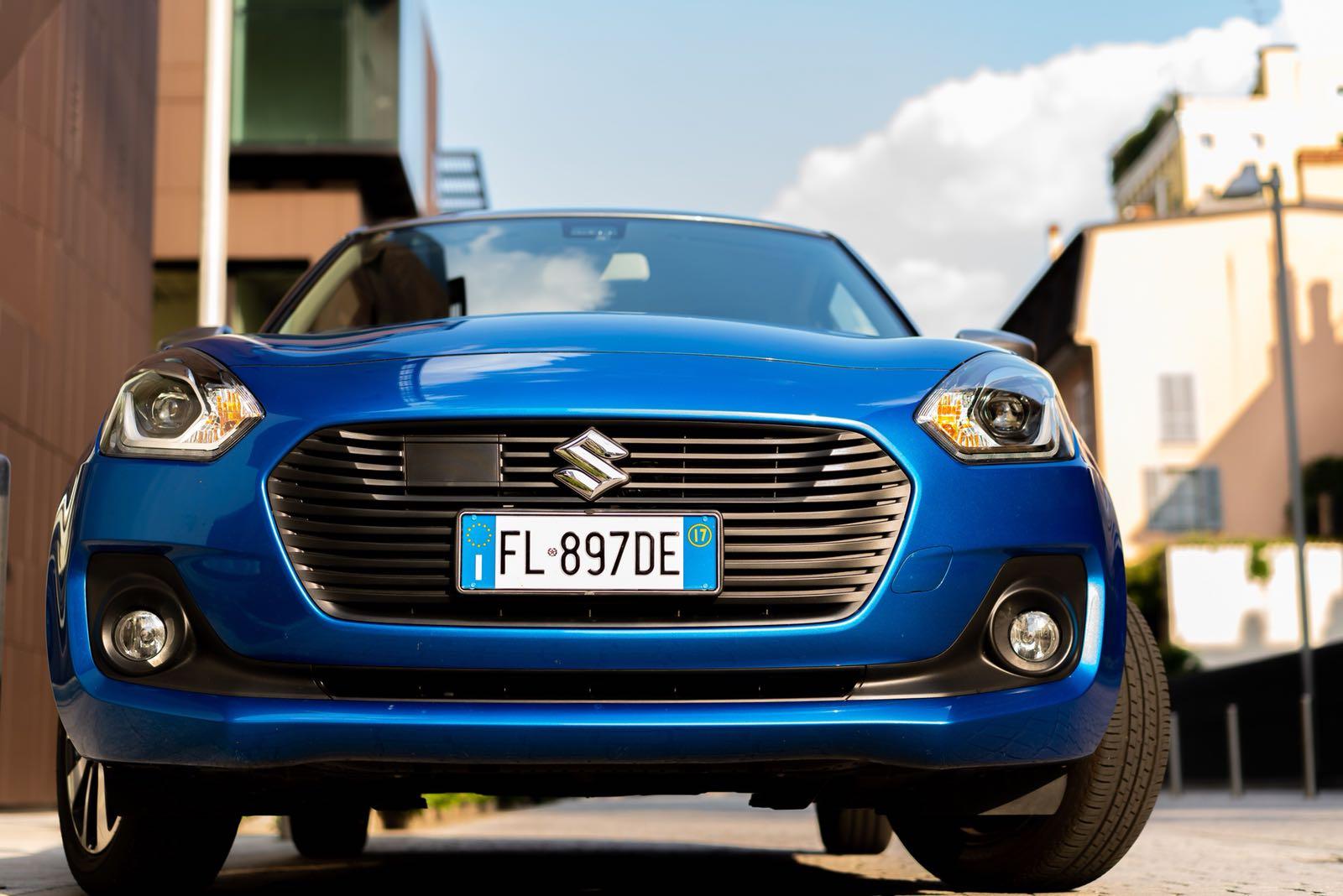 Suzuki Swift Hybrid frontale